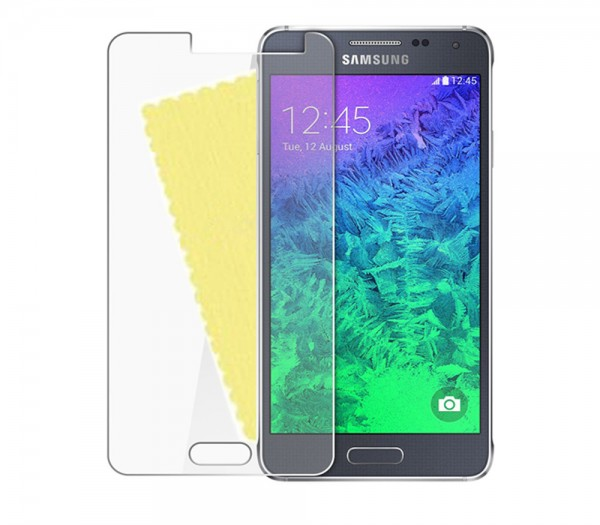3x DISPLAY HANDY SCHUTZ FOLIE Samsung Galaxy Alpha (SM-G850F) Screen Protector