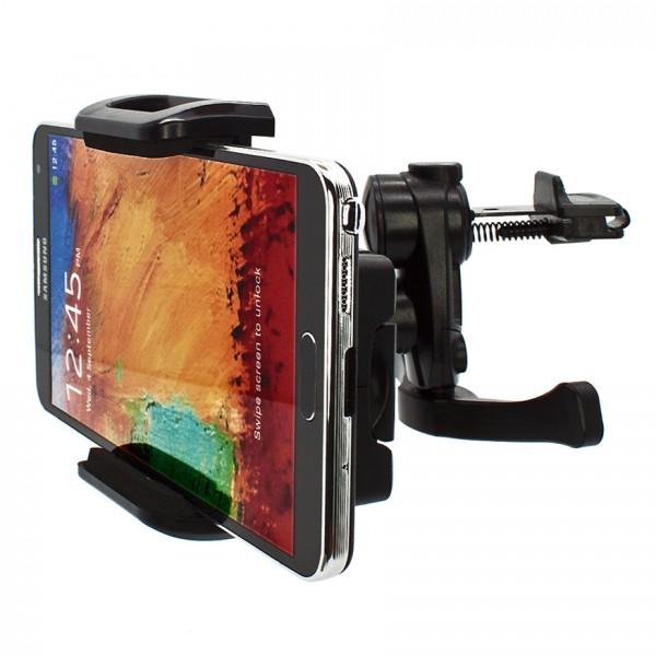 Mobilefox Lüftungs Halterung Auto KFZ Halter Samsung Galaxy Note 3 N9005/N9000360°