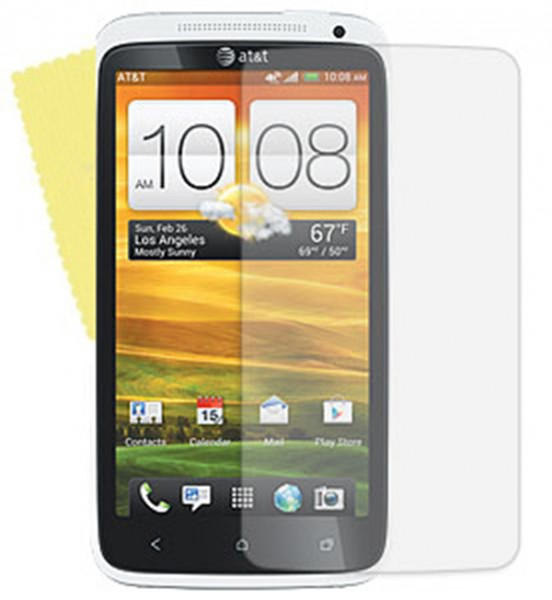3x DISPLAY HANDY SCHUTZ FOLIE HTC ONE X / XL Screen protector + REINIGUNGSTUCH