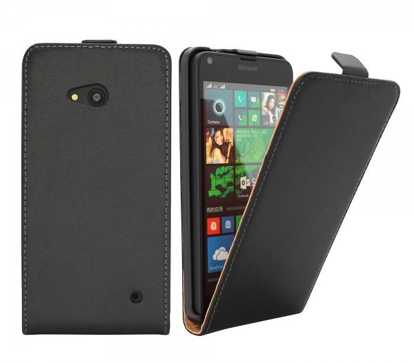 Microsoft Lumia 640 Tasche Schutz Hülle Case Etui Cover Flip