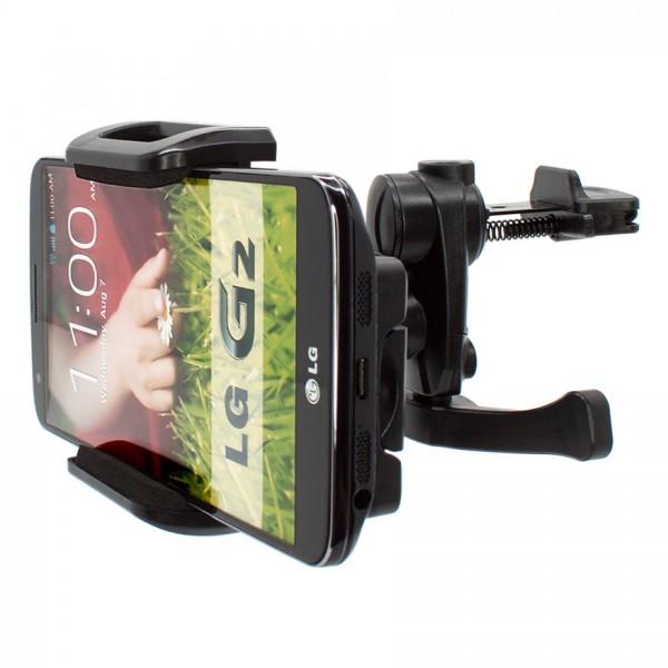 Mobilefox Lüftungs Halterung Auto KFZ Halter LG Optimus G2/Nexus 5/4XHD/L7/L5 360°
