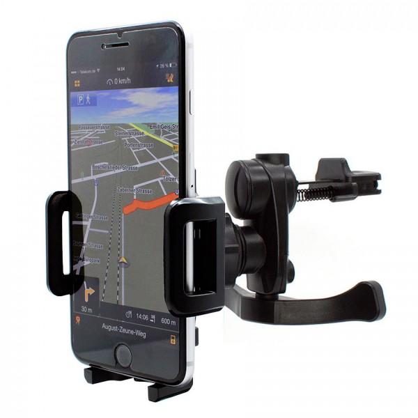 Mobilefox Lüftungs Gitter Halter Halterung Auto KFZ Apple iPhone 6 Plus 360°