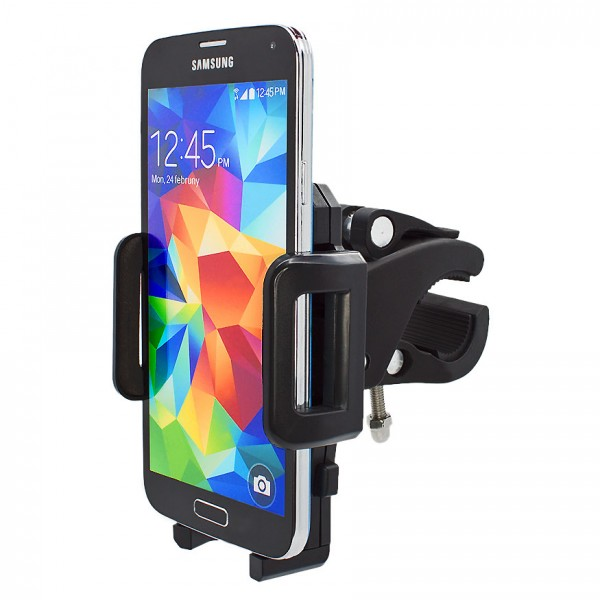 360° Fahrrad Halterung Lenker Halter MTB Bike Schwarz Samsung Galaxy S5