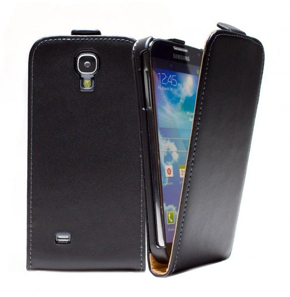 Samsung Galaxy S4 GT-I9505 /GT-I9500 Tasche Schutz Hülle Case Etui Cover + Folie