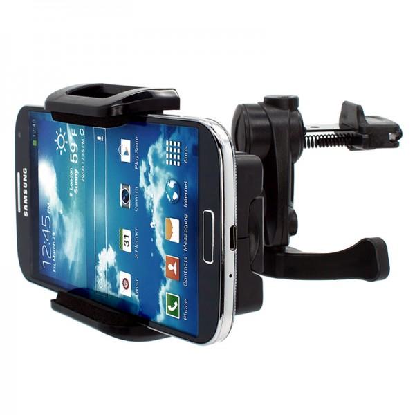 360° Universal Auto Lüftungs Halterung Halter Car Holder Mount Samsung Galaxy S4