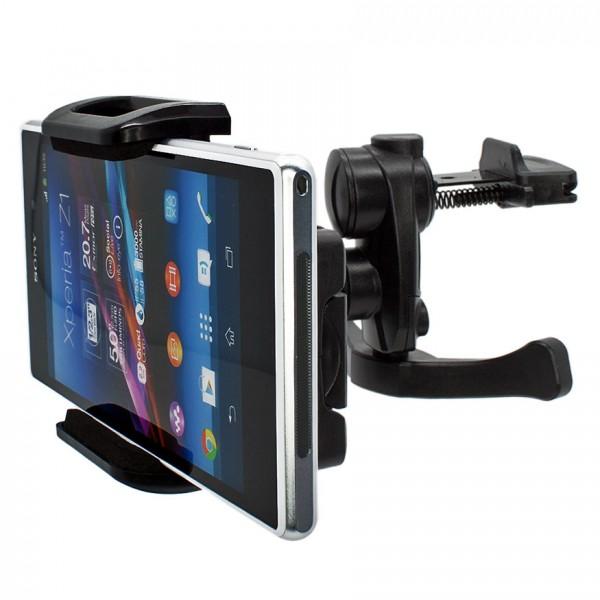 Mobilefox Lüftungs Halterung KFZ Halter Handy Xperia Z/Z1/Compact/Z2/V/L/S/U/J 360°