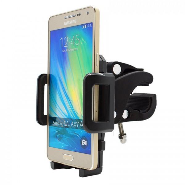 360° Fahrrad Halterung Lenker Halter MTB Bike Schwarz Samsung Galaxy A5