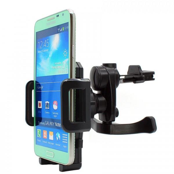 360° Samsung Galaxy Note 3 Neo N7505 Lüftungs Gitter Halter Halterung Auto Handy