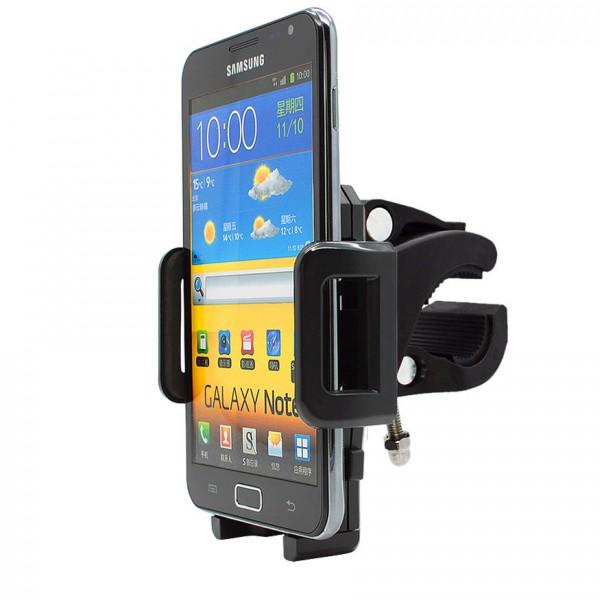 360° Fahrrad Halterung Lenker Halter MTB Bike Schwarz Samsung Galaxy Note