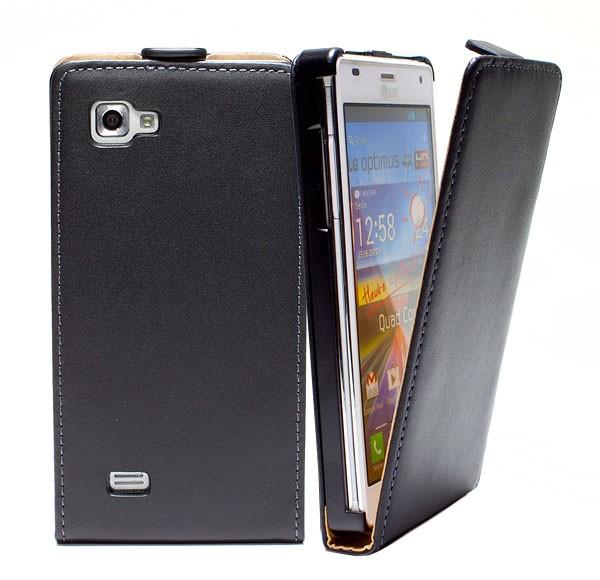 Handy Tasche Schutz Hülle Flip Case Etui Cover Schale für LG Optimus 4X HD P880