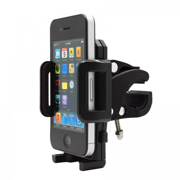 360° Fahrrad Halterung Lenker Halter MTB Bike Schwarz Apple iPhone 4/S