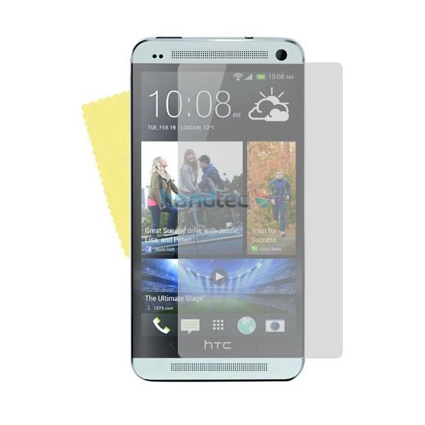 3x DISPLAY HANDY SCHUTZ FOLIE HTC ONE Displayschutz +Tuch Screen Protector (M7)
