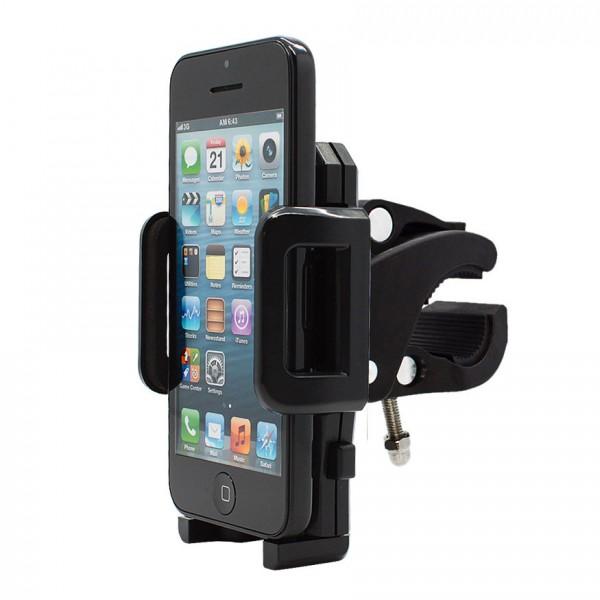 360° Fahrrad Halterung Lenker Halter MTB Bike Schwarz Apple iPhone 5C