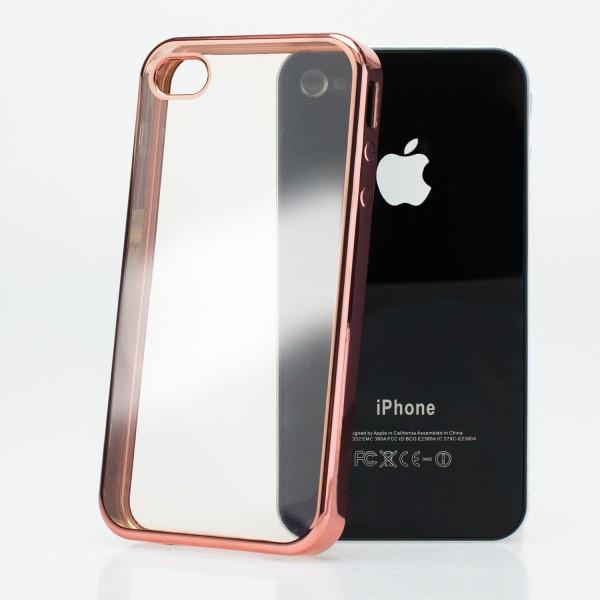 Schutzhülle farbiger Rand Silikon Case Schale Cover Bumper Cover Smartphone
