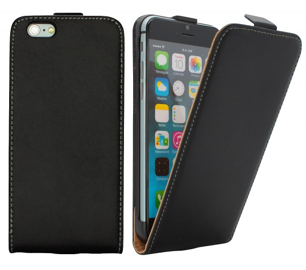 Apple iPhone 6 Plus/6S Plus Tasche Schutz Hülle Case Etui Cover Flip