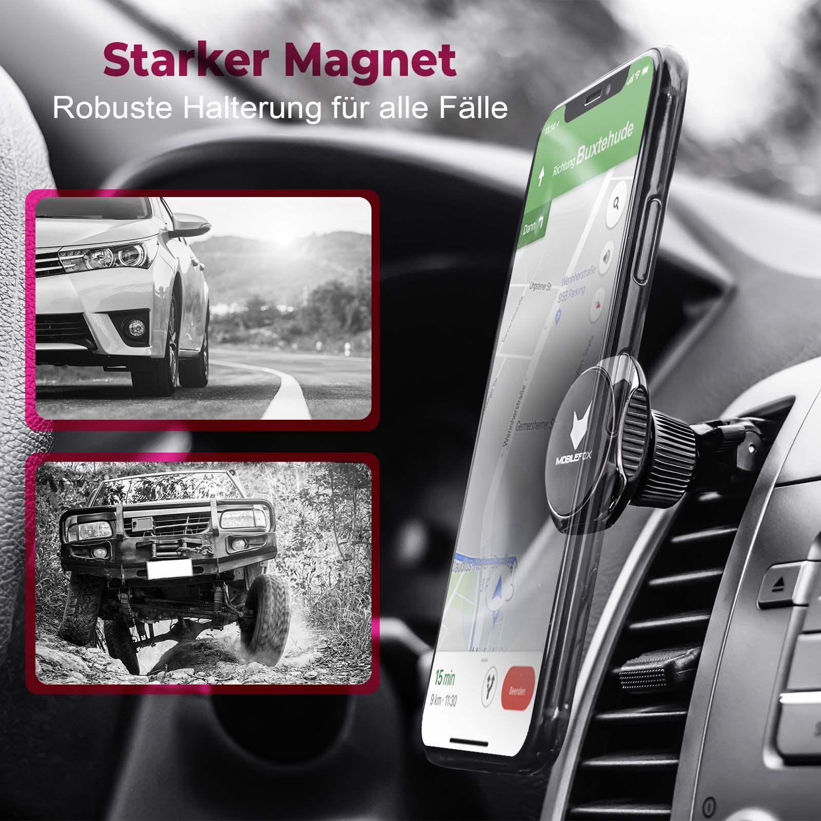 mobilefox universal 360 auto kfz verstellbare magnet. Black Bedroom Furniture Sets. Home Design Ideas