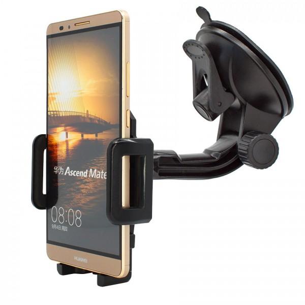 360° Universal Auto KFZ-Halterung LKW Saugnapf Halter Huawei Ascend Mate 7
