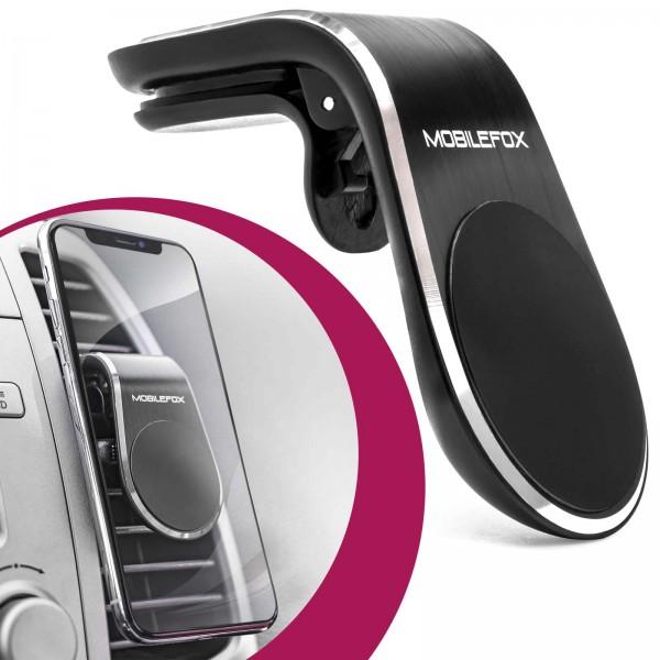 Mobilefox Universal Auto KFZ Smartphone Handy Halterung Lüftung Magnet Halter