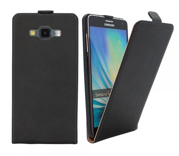 Samsung Galaxy A7 A700F Tasche Schutz Hülle Case Etui Cover Flip Bumper