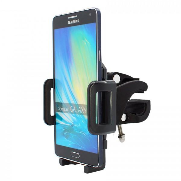 360° Fahrrad Halterung Lenker Halter MTB Bike Schwarz Samsung Galaxy A7