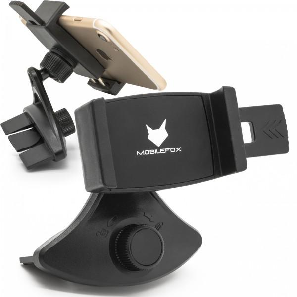 Mobilefox Universal CD Slot Smartphone Halterung