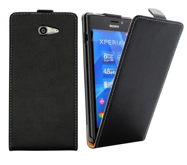 Sony Xperia M2 (D2305/D2306) Tasche Schutz Hülle Case Etui Cover Flip