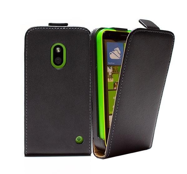 Nokia Lumia 620 Tasche Schutz Hülle Case Etui Cover Handy Flip Bumper + Folie