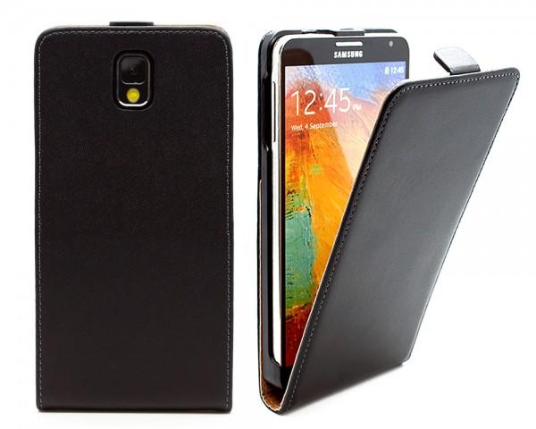 Samsung Galaxy Note 3 N9005 / N9000 Tasche Schutz Hülle Case Etui Cover + Folie