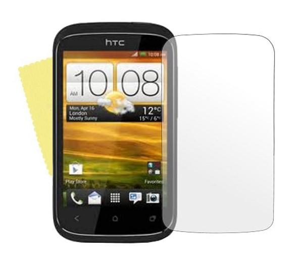 3x DISPLAY HANDY SCHUTZ FOLIE HTC DESIRE C Displayschutz +Tuch Screen Protector