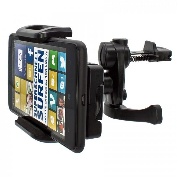 Mobilefox Lüftungs Halterung KFZ Halter Handy Nokia Lumia520/625/820/920/925/1020 360°