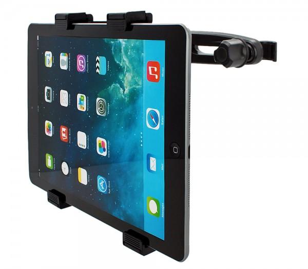 360° Universal Kopfstützen Halterung Tablet Halter KFZ Holder Auto Sitzhalterung