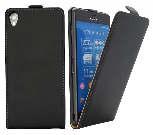 Sony Xperia Z3 (D6603) Tasche Schutz Hülle Case Etui Cover Flip