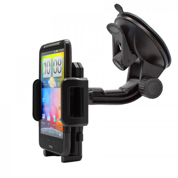 360° Universal Auto KFZ-Halterung LKW Saugnapf Halter Mount Holder HTC Desire HD