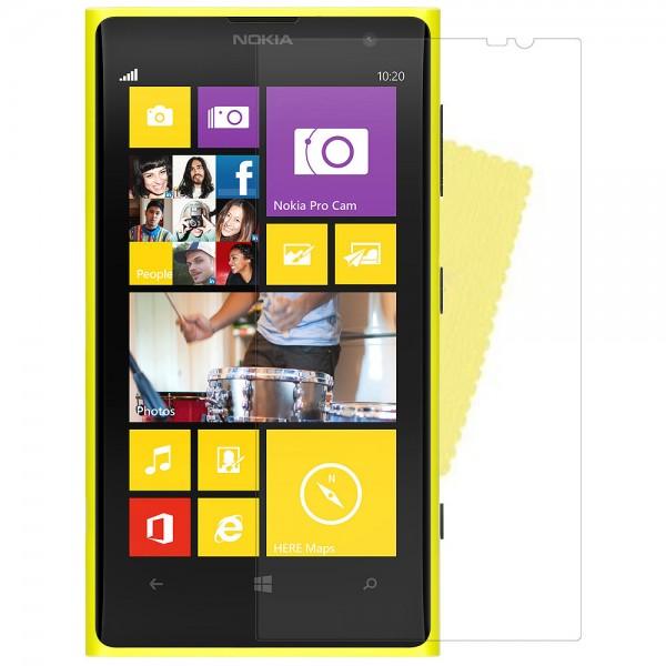 3x DISPLAY HANDY SCHUTZ FOLIE Nokia Lumia 625 + REINIGUNGSTUCH Screen Protector