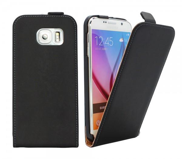 Samsung Galaxy S6 G920F Tasche Schutz Hülle Case Etui Cover Flip Bumper