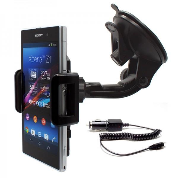 360° Auto KFZ-Halterung Sony Xperia Z2/Z3/Z4/Z5/Compact/XZ/X/XA/M5/Style +Kabel