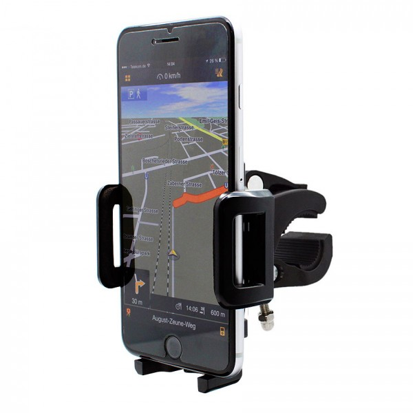 360° Fahrrad Halterung Lenker Halter MTB Bike Schwarz Apple iPhone 6 Plus