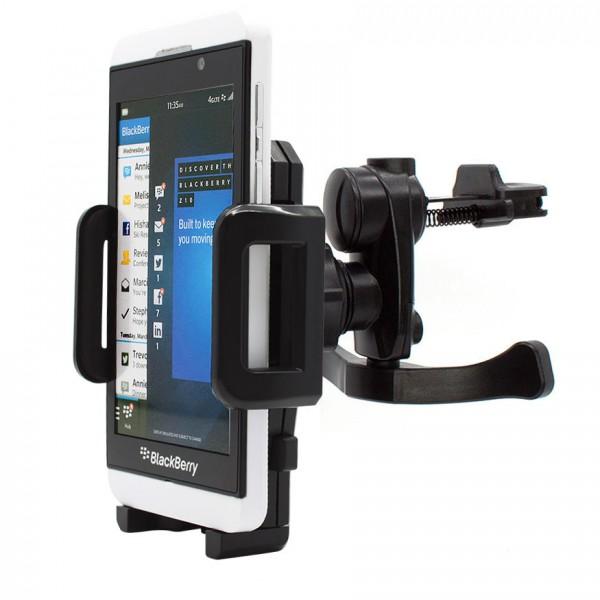 360° BlackBerry Z10 Lüftungs Gitter Halter Halterung Auto KFZ PKW Smartphone