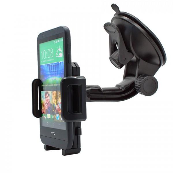 360° Universal Auto KFZ-Halterung LKW Saugnapf Halter Holder Car HTC Desire 510