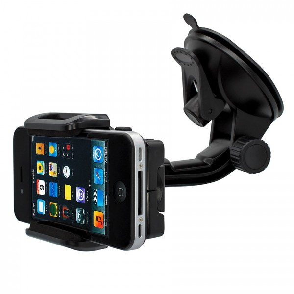 360° Universal Auto KFZ-Halterung LKW Saugnapf Halter Car Mount Apple iPhone 4/S