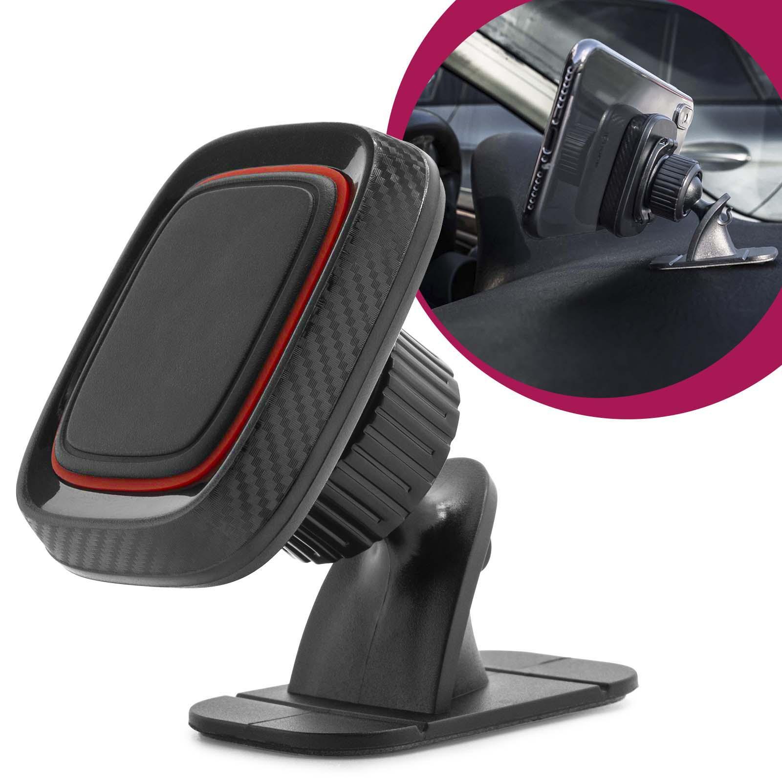 mobilefox universal auto kfz handy halterung carbon optik. Black Bedroom Furniture Sets. Home Design Ideas