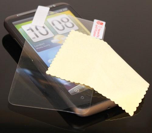 3x DISPLAY HANDY SCHUTZ FOLIE HTC DESIRE HD + REINIGUNGSTUCH TOP QUALITÄT