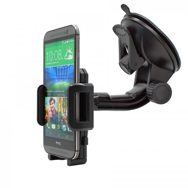 360° Universal Auto KFZ-Halterung LKW Saugnapf Halter Holder Mount HTC One M8