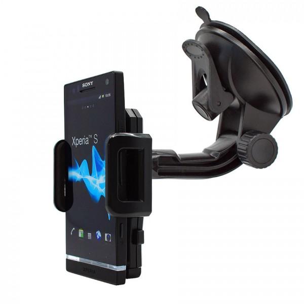 360° Universal Auto KFZ-Halterung LKW Saugnapf Halter Mount Holder Sony Xperia S