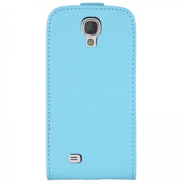 Mobilefox Handy Tasche Schutz Hülle Etui für Samsung Galaxy S4 mini Hellblau