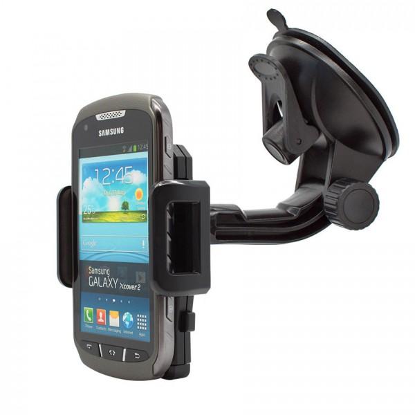 360° Universal Auto KFZ-Halterung LKW Saugnapf Halter Samsung Galaxy Xcover 2