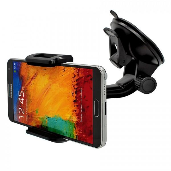 360° Universal Auto Halterung Saugnapf Halter Samsung Galaxy Note/Edge/4/3/Neo/2