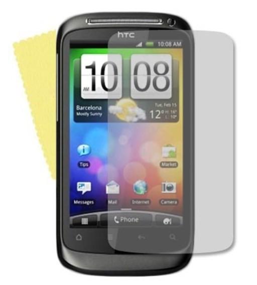 3x DISPLAY HANDY SCHUTZ FOLIE HTC DESIRE S + REINIGUNGSTUCH TOP QUALITÄT