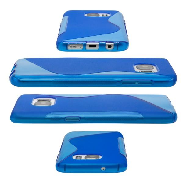 Smartphone Schutz-Hülle Handy S-Line Silikon Tasche Cover Schale Ultraslim