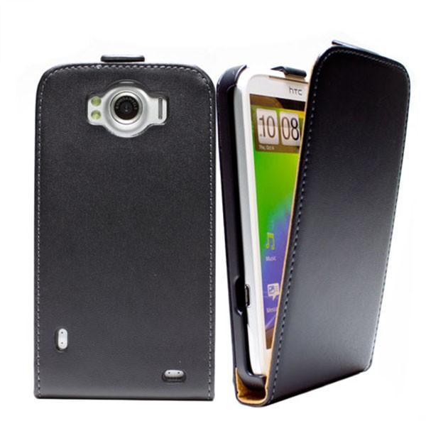 HTC Sensation XL Tasche Schutz Hülle Case Etui Cover Handy Flip Bumper + Folie